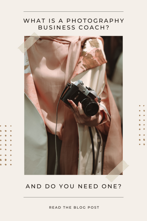 What is a photography business coach?